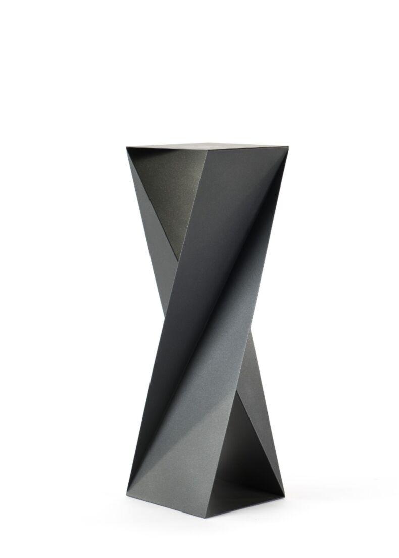 portabottiglie ORIGAMI in acciaio verniciato nero