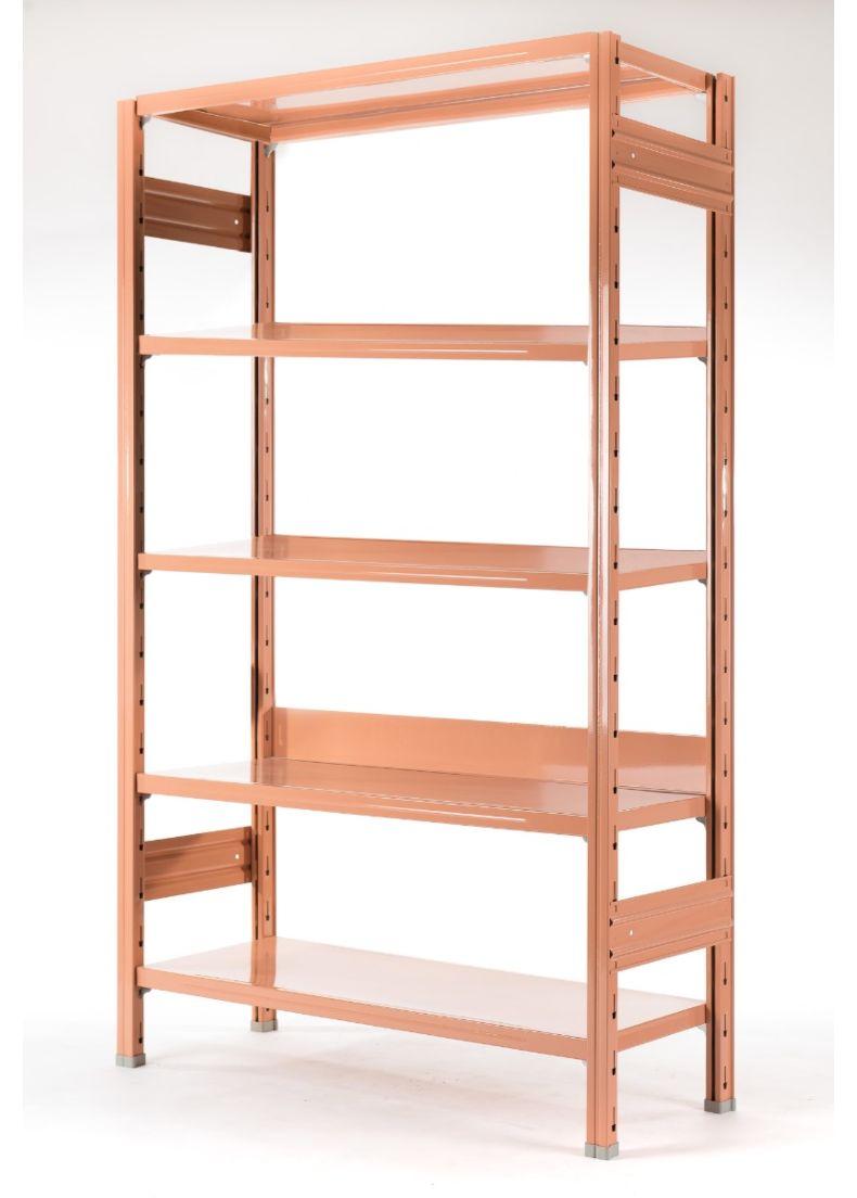 libreria rosa di design per uffici negozi showroom