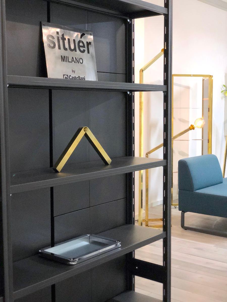 situér milano showroom di design scaffalatura di design